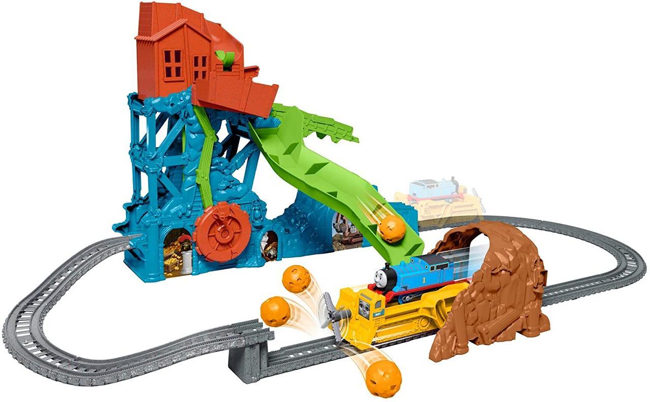 Фишер прайс Большая железная дорога Томас и друзья Крушение в пещере Fisher-Price Thomas & Friends