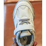 Кроссовки Racnio дышащая сетка бело-серые Размер: 21-30, фото 3