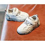 Кроссовки Racnio дышащая сетка бело-серые Размер: 21-30, фото 6
