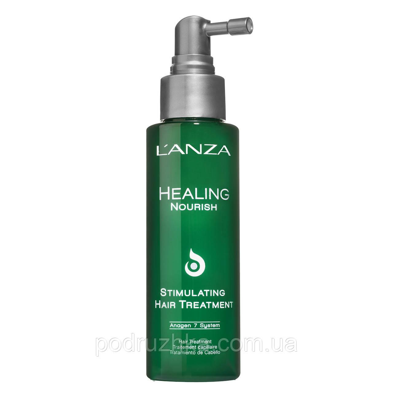 Lanza healing nourish stimulating treatment Спрей для стимуляции роста волос ph: 5.1, 100 мл