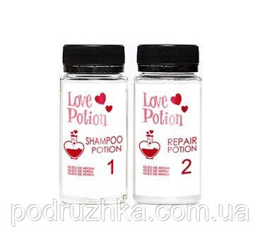 Кератин Love Potion Repair Óleo De Argan, набор 2х50 мл