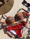 Стильный женский раздельный купальник 46/54, фото 2