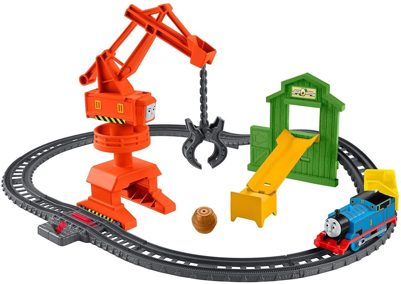 Fisher-Price Томас і друзі Залізниця Моторизований кран Thomas & Friends Crane & Cargo Train