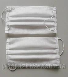 Защитная маска для лица на резинке
