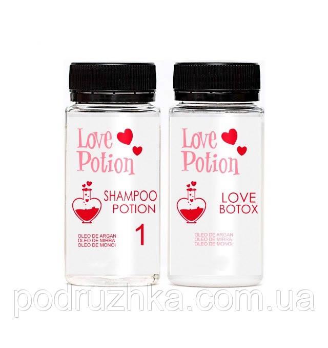 Бoтoкc Love Potion Love Tox Brunette Óleo De Argan, набор 100/200 мл