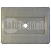 Накладка подушки пластиковой рессоры белая Mercedes Benz Sprinter/VW LT
