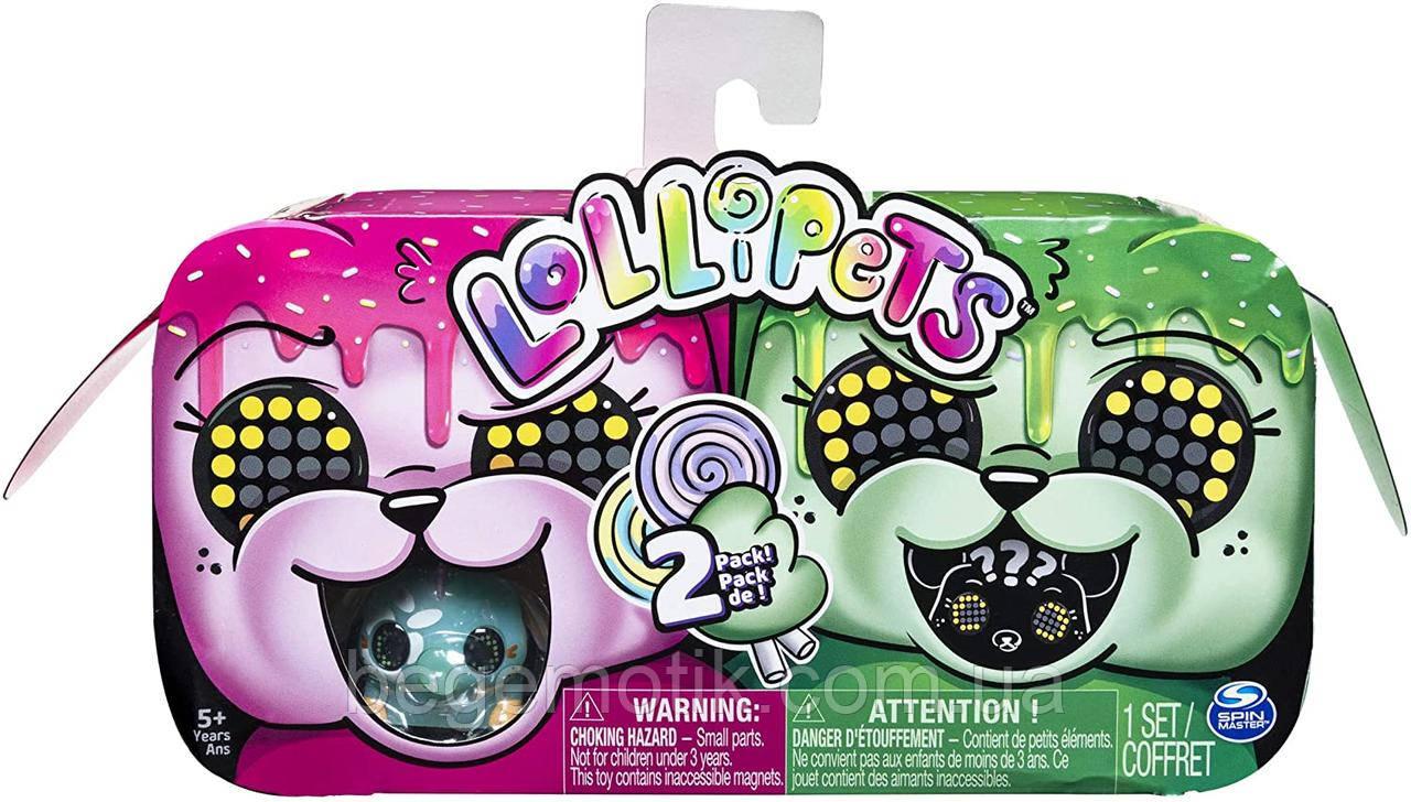 Лоллипетс Игровой набор из двух интерактивных питомцев  Lollipets Two Pack, Mini Interactive Collectible Pets