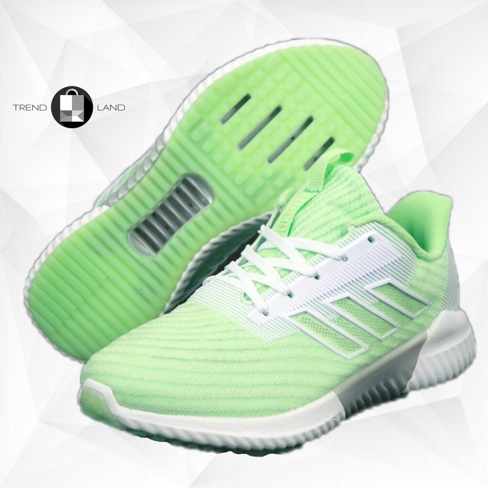 Женские кроссовки в стиле Adidas Climacool Салатовые