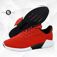 Мужские кроссовки в стиле Adidas Climacool Red Красные