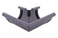 Угол желоба  наружный графит 90° 130/100 Profil, фото 1
