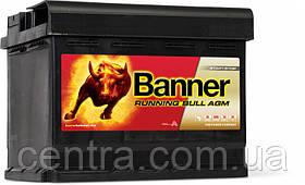 Автомобильный аккумулятор Banner 6СТ-60 Running Bull AGM 56001
