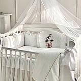 Постільний набір в ліжечко Kolibri білий, фото 2