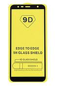 Защитное стекло Full Cover 9D на Samsung J6+ Plus 2018 Black
