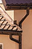 Ливнеприемник левый красный  130/100 Profil, фото 9