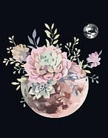 "Набор для рисования Картина по номерам. Rosa ""Планета цветов"" 35х45см антистресс"