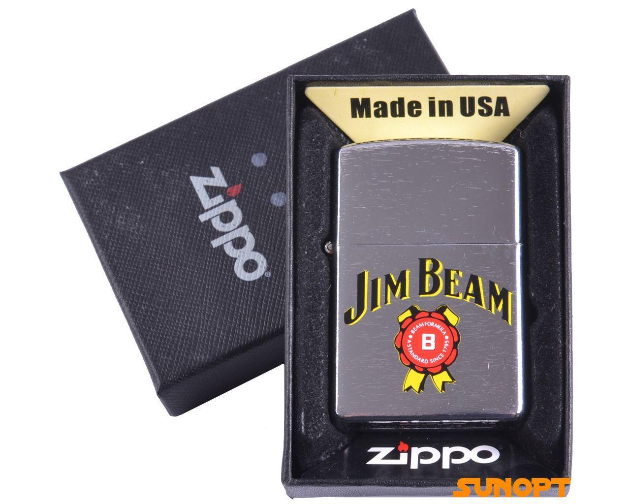 """Запальничка бензинова """"Zippo. USA"""" подарункова №4737-2"""