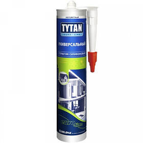 Герметик силіконовий універсальний безбарвний Tytan Euro Line 290 мл