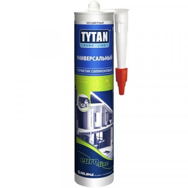 Герметик силіконовий універсальний білий Tytan Euro Line 290 мл