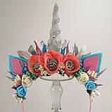 Обруч Єдиноріг Прикраса для волосся обруч чарівний єдиноріг, фото 2