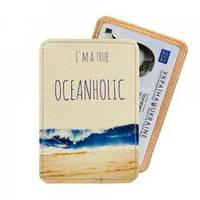 Обложка на Id паспорт Океаноголик оригинальный подарок