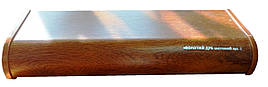 Пластиковый подоконник 100 мм золотой дуб матовый - стандарт