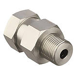 Вращающиеся соединения ST-310, 350bar, 3/8внеш-3/8внут, нержавеющая сталь (поворотная муфта ), фото 3