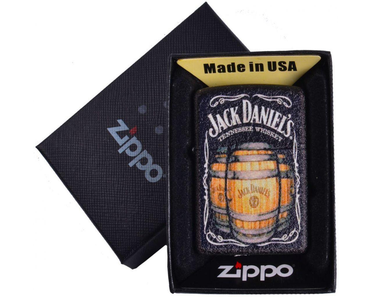 """Запальничка бензинова """"Zippo. USA"""" подарункова №4735-2"""
