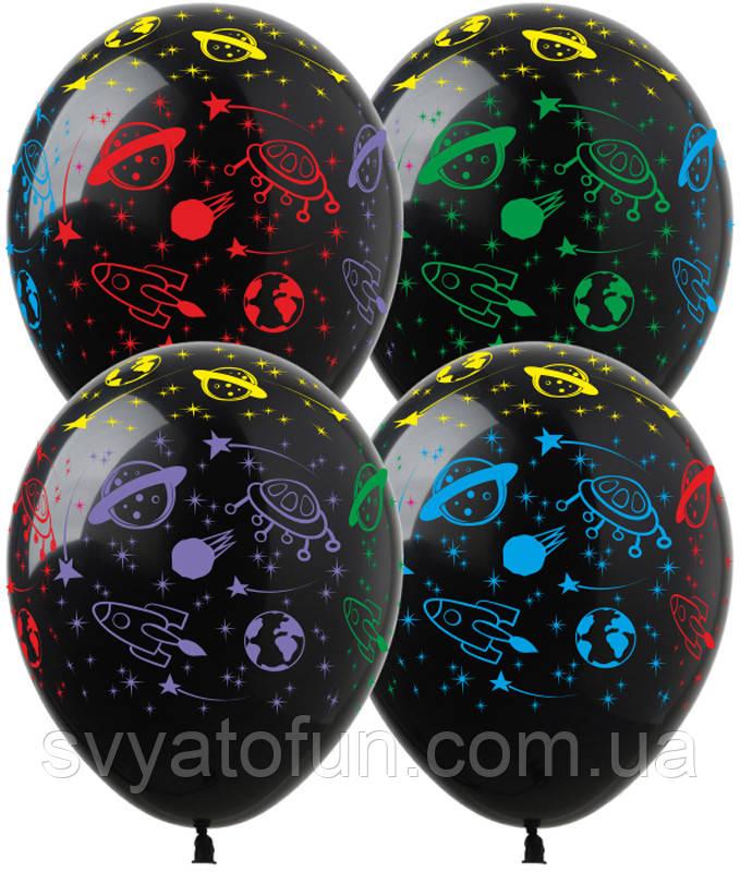Латексные воздушные шарики Космос 20 шт/уп DM-1 ArtShow