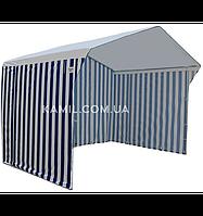 Тент торговой палатки 2х2 м стандартный Оксфорд 110g