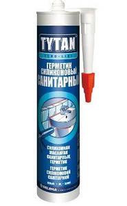 Герметик силіконовий санітарний білий Tytan Euro Line 290 мл