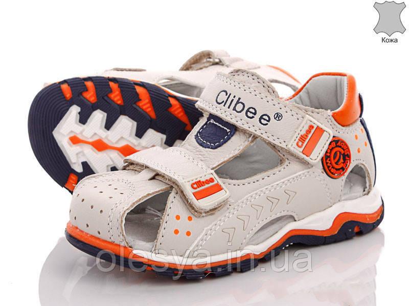 Босоножки сандалии летние на мальчика Clibee Кожа размеры 26  28 29 топ продаж