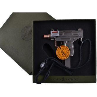 "Запальничка ""Пістолет. Автомат"" подарунок сувенір №4463"