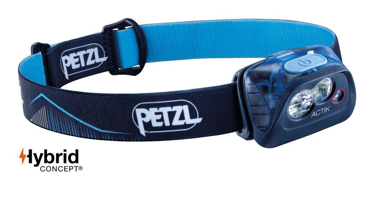 Фонарь налобный Petzl ACTIK® blue (E099FA01)