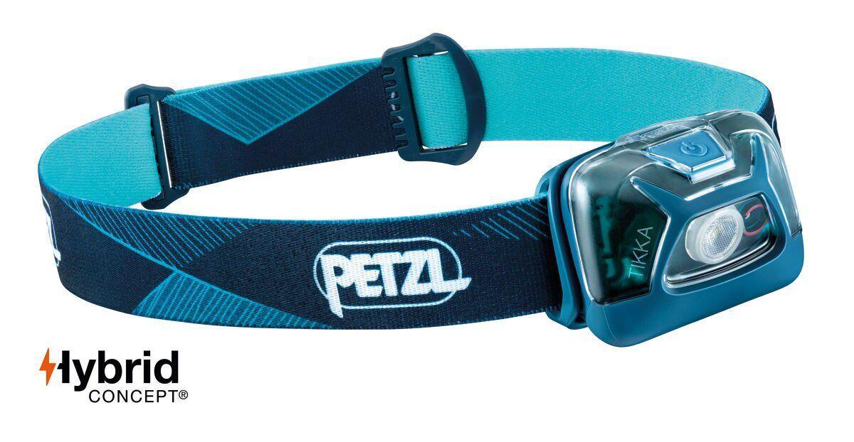 Фонарь налобный Petzl TIKKA® blue (E093FA01)