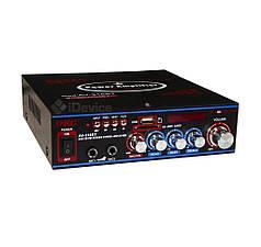 Усилитель звука UKC AV-316BT Bluetooth, USB, FM