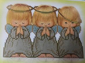 Набор для вышивки бисером Ангелочки Д 096