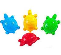 Формочка для песка( 4 вида черепашки ,морской конек,морская звезда ,дельфин)