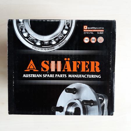 Усиленная Ступица Skoda SUPERB Шкода Суперб (2001-2008) 8E0501611J. Задняя. SHAFER Австрия