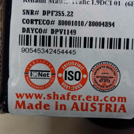 Подшипник ступицы Mercedes Sprinter Мерседес Спринтер (1995-) 2D0501319. Задн. SHAFER Австрия