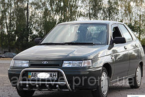 Кенгурятник с грилем (защита переднего бампера) ВАЗ 2110 (LADA)