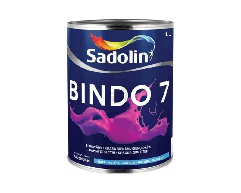 Краска Sadolin BINDO 7 тонир.база  ВС