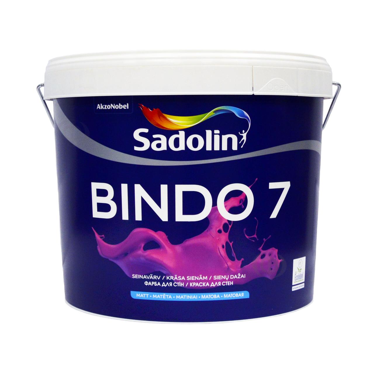 Краска Sadolin BINDO 7 тонир.база  ВС 9.3 л