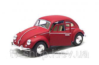 """Машинка KINSMART """"Volkswagen Beetle"""", червона"""