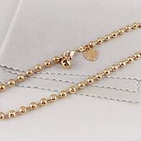 Браслет на ногу Xuping Jewelry 26 см Перлина медицинское золото, позолота 18К А/В 5338