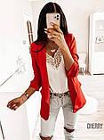 Пиджак женский Цвета: черный, красный, белый, фото 2