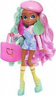 Большая Кукла Для Девочек Хэрдораблс Ди Ди Модный показ с 6 аксессуарами Hairdorables Hairmazing Dee Dee 26 см