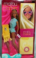 Коллекционная Кукла Барби Малибу Капсула времени, голубой комбинезон, розовые очки, 2001 года - Barbie Malibu, фото 1