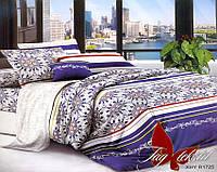 Комплект постельного белья семейный с 2-мя пододеяльниками Поликоттон TAG XHY1725