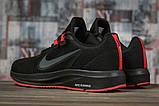 Кроссовки мужские 17020, Nike Running черны, [ 41 ] р. 41-26,2см., фото 4