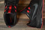 Кроссовки мужские 17020, Nike Running черны, [ 41 ] р. 41-26,2см., фото 5